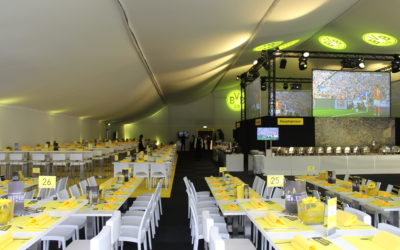 VIP Zelt Saisonabschluß Borussia Dortmund