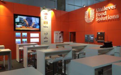Handelsmessen für Unilever Food Solutions