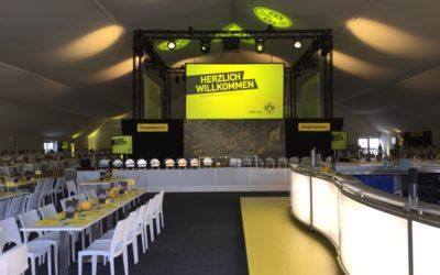 VIP-Zelt zum 171. Revierderby
