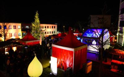 Weihnachtsmarkt bei Eckes Granini Group